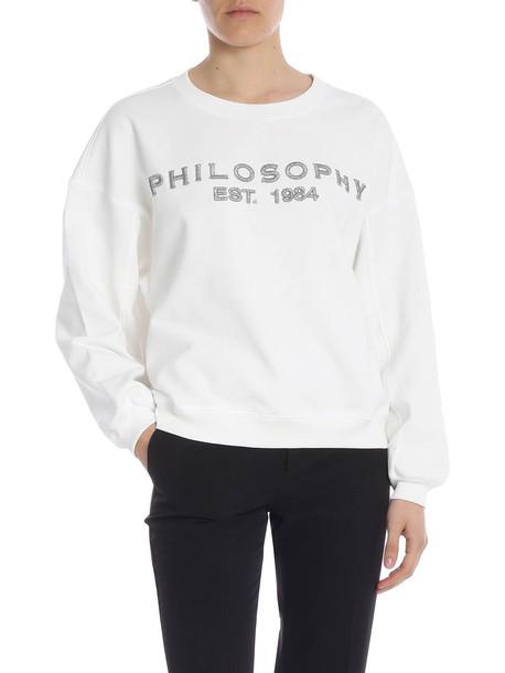 Philosophy di Lorenzo Serafini Philosophy - Sweatshirt in white