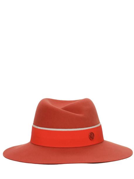 MAISON MICHEL Virginie Felted Wool Hat