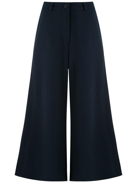 LE SOLEIL D'ETE Velma wide leg trousers in blue