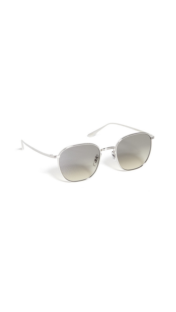 Oliver Peoples The Row Board Meeting 2 Sunglasses in gold / grey