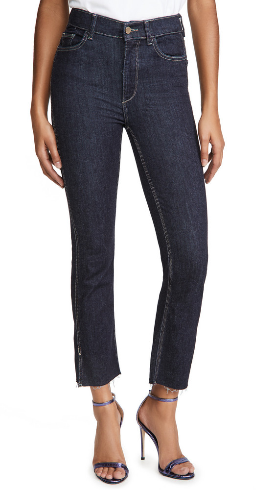 DL DL1961 Mara Ankle High Rise Straight Jeans