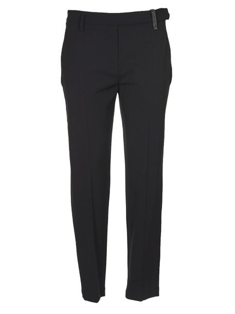 Brunello Cucinelli Trousers in nero