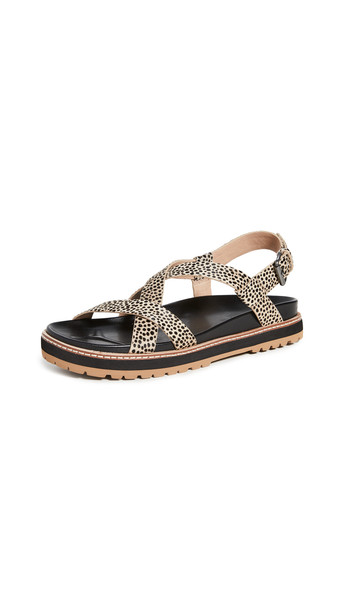 Madewell Piper Lugsole Sandals in multi