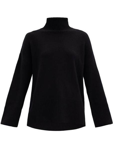 Frame - High-neck Cashmere Sweater - Womens - Black