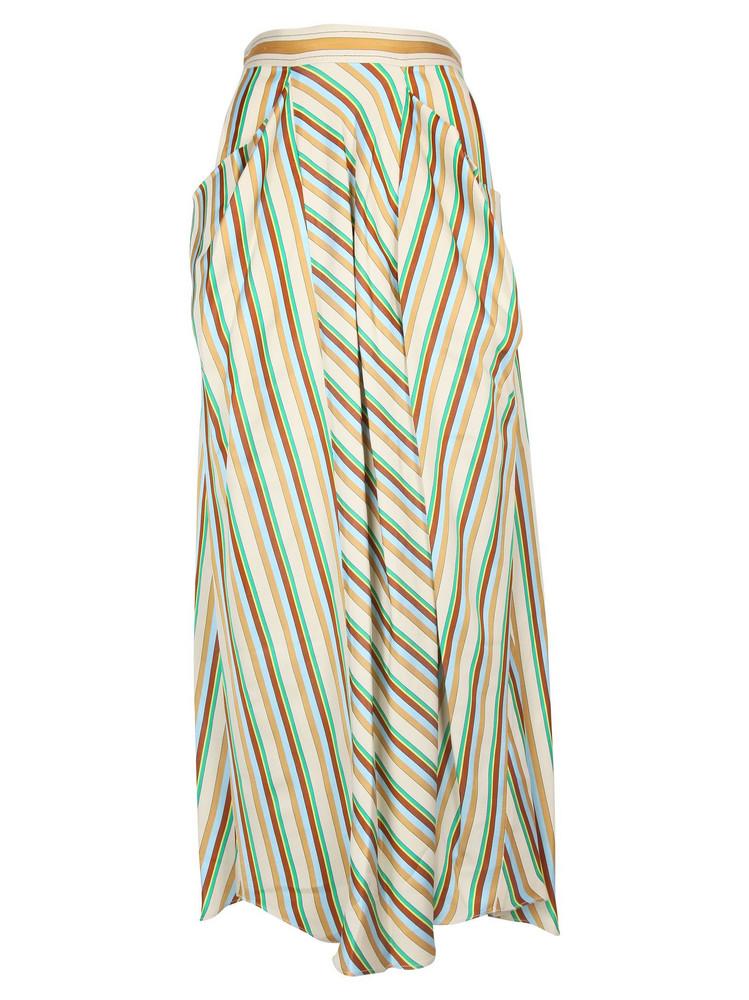 3.1 Phillip Lim Phillip Lim Long Striped Skirt in ecru / multi