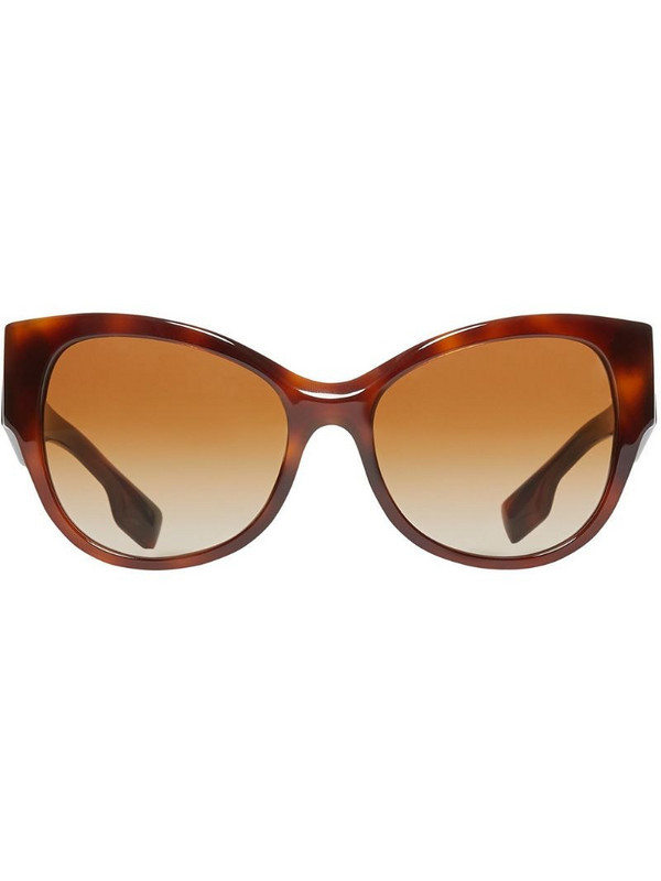 Burberry Butterfly Frame Sunglasses in brown