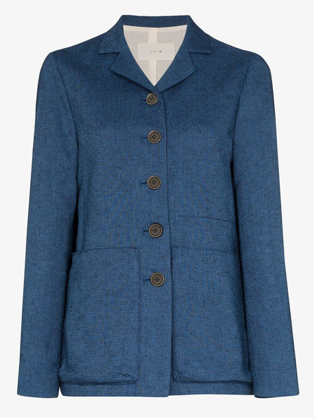 LVIR linen jacket in blue