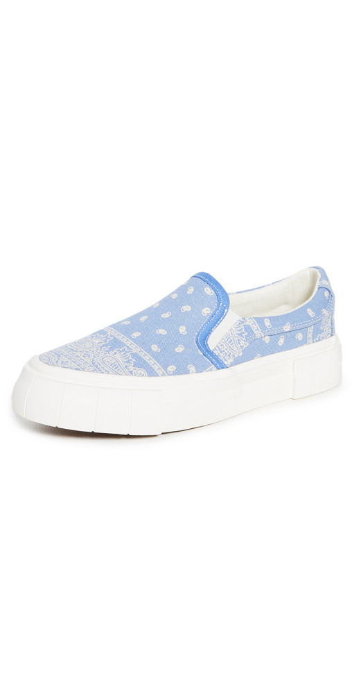 Good News Yess Paisley Sneakers in blue