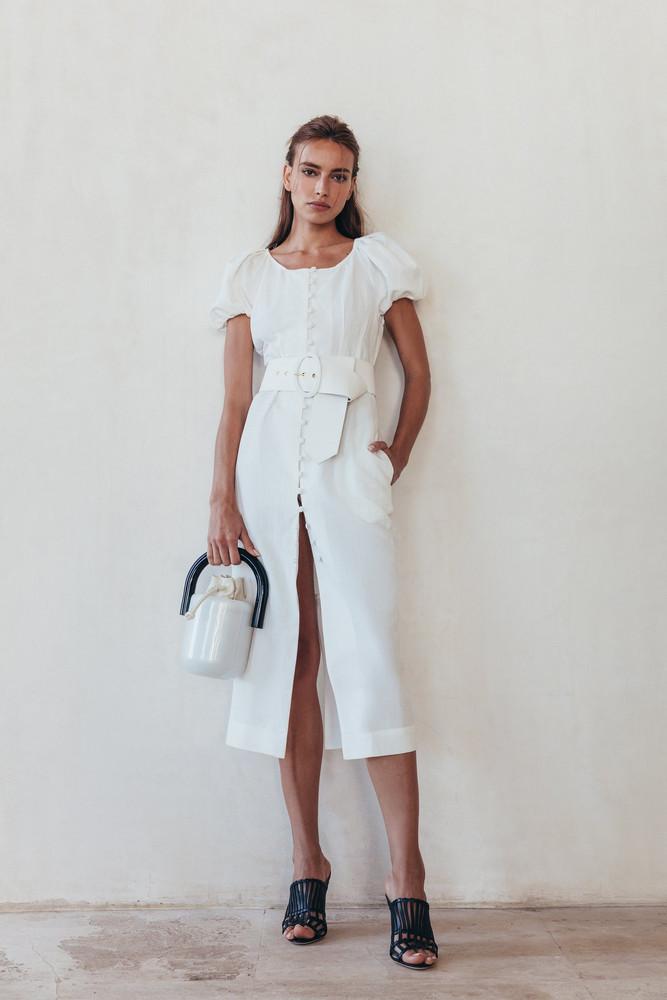 Cult Gaia Charlotte Dress - White                                                                                               $598.00 USD