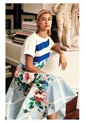 skirt,light blue,celebrity,hailey baldwin,model,top,spring outfits,midi skirt