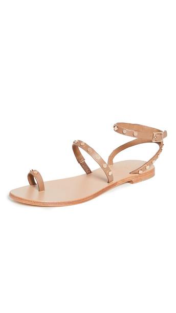 SENSO Cassie Strappy Sandals in camel