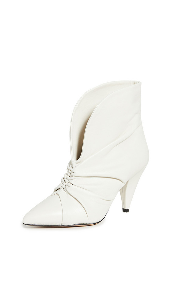 Isabel Marant Lasteen Booties in white