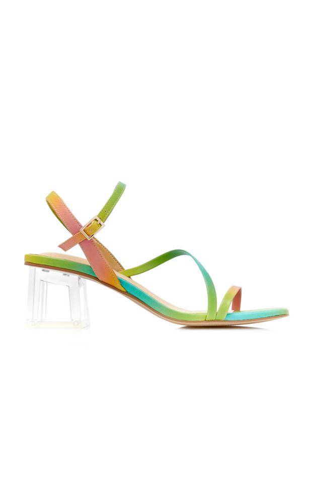 Miista Manaia Leather Sandals in multi