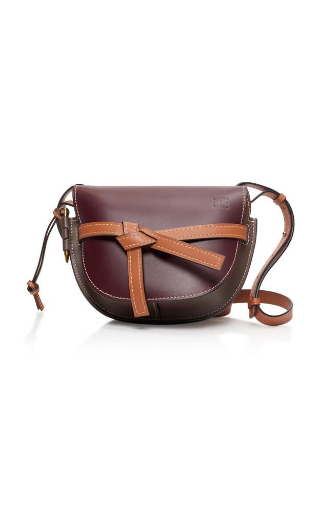 Loewe Gate Small Leather Shoulder Bag in multi
