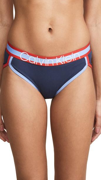 Calvin Klein Underwear Retro Hipster Panties in indigo