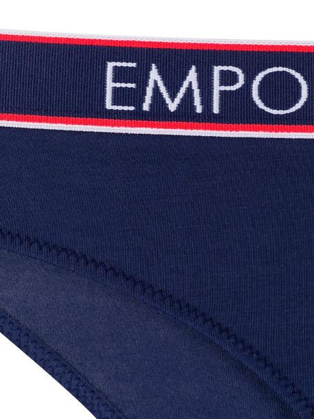 Emporio Armani stretch fit briefs in blue