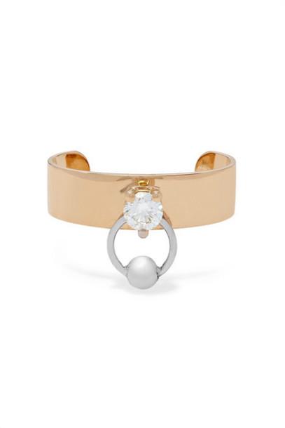 Delfina Delettrez - 18-karat Yellow And White Gold Diamond Ear Cuff
