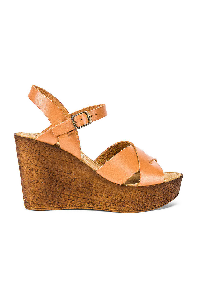 Seychelles Provision Wedge in brown