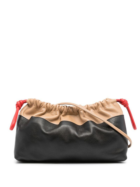 Pierre Hardy Twin clutch in black