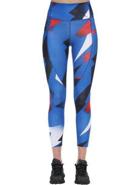 NIKE Jordan Psg Printed Stretch Leggings in cobalt