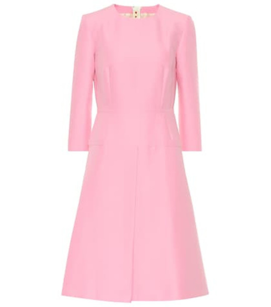 Marni Cotton dress in pink