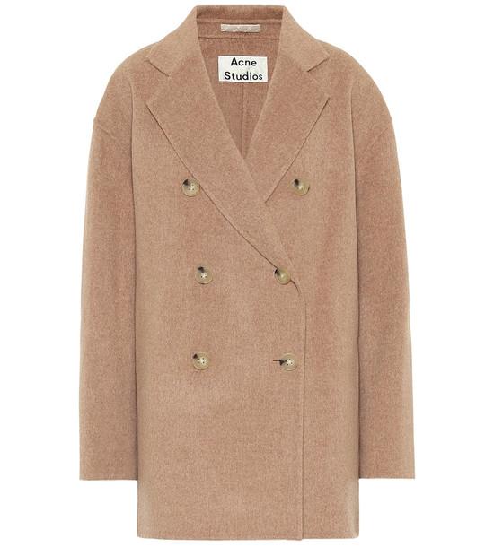 Acne Studios Wool coat in beige