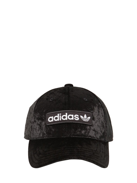 ADIDAS ORIGINALS Baseball Velvet Hat in black