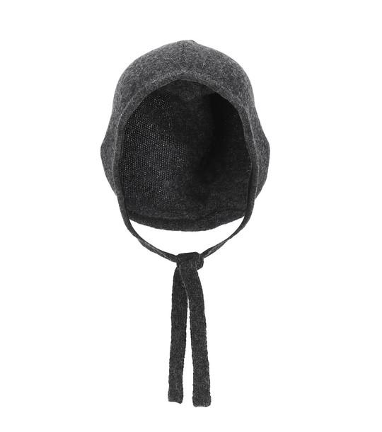 Caramel Baby Turnstone wool hat in grey