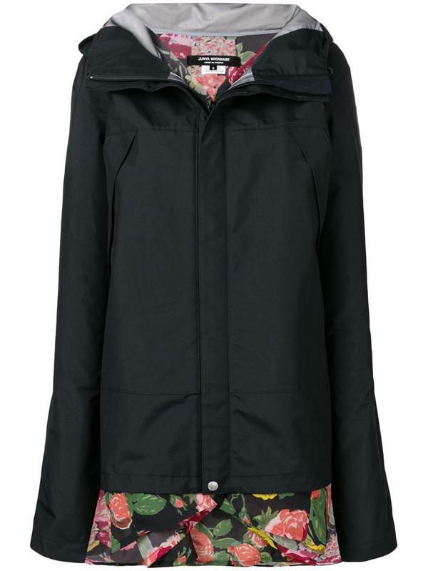 Junya Watanabe reversible hooded jacket in black