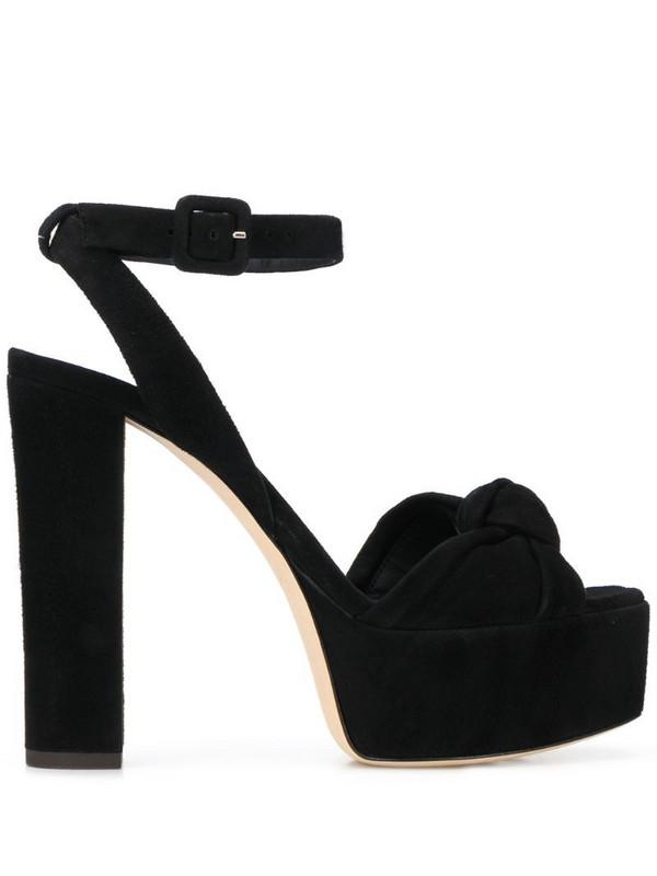 Giuseppe Zanotti high-heel platform sandals in black