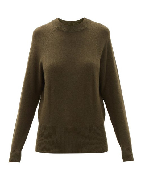 Frame - Fitz Recycled-cashmere Sweater - Womens - Green