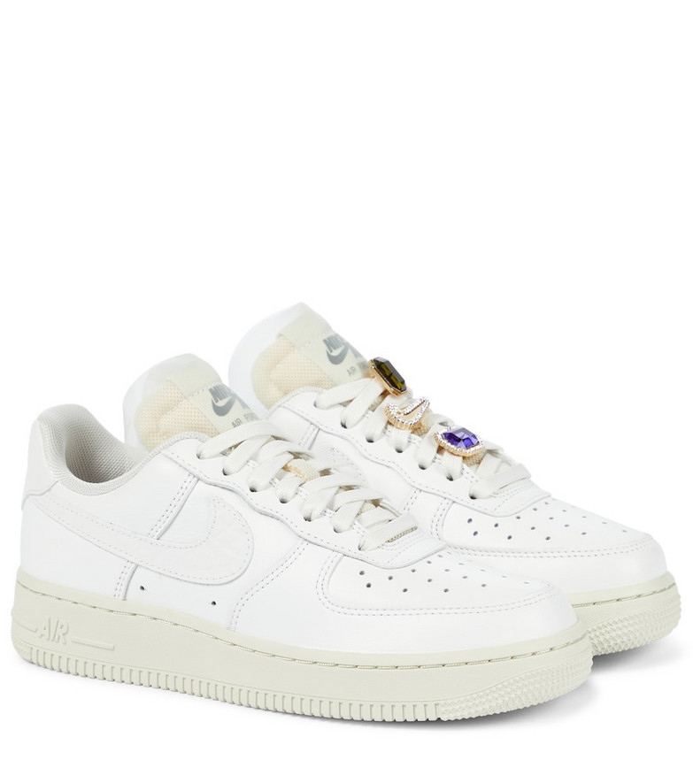 Nike Air Force 1 LX leather sneakers in white