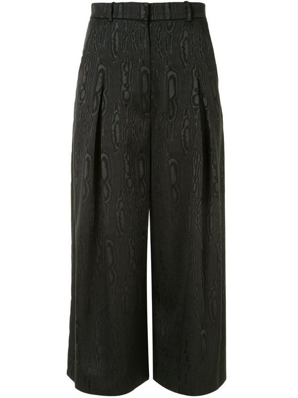 Ginger & Smart moire culottes in black