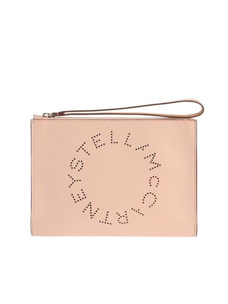 Stella McCartney Pink Pierced Clutch