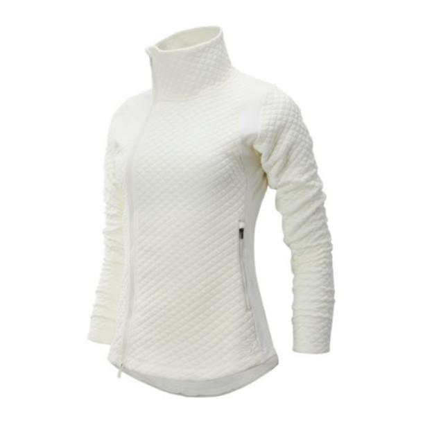 New Balance 93116 Women's NB Heat Loft Jacket - Off White (WJ93116SST)