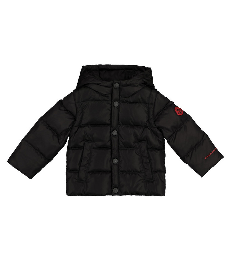 Moncler Enfant Baby Hasan down jacket in black
