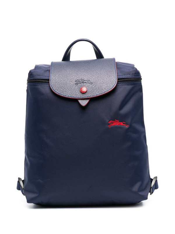 Longchamp Le Pliage Club mini backpack in blue