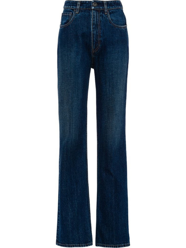 Prada straight-leg jeans in blue