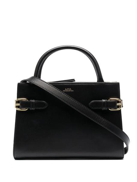 A.P.C. Ella top-handle bag in black