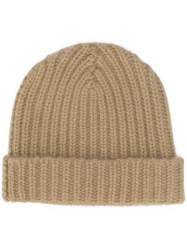 Warm-Me Alex cashmere beanie hat in neutrals