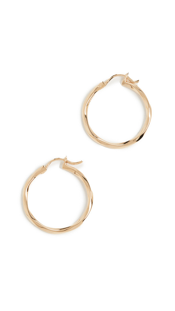 Maria Black Francisca 22 Hoop Earrings in gold