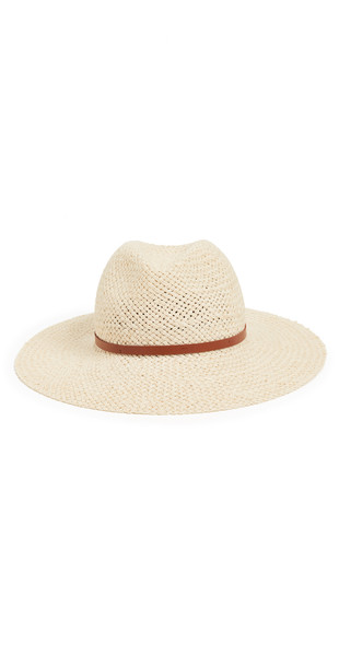 Janessa Leone Ivana Hat in natural