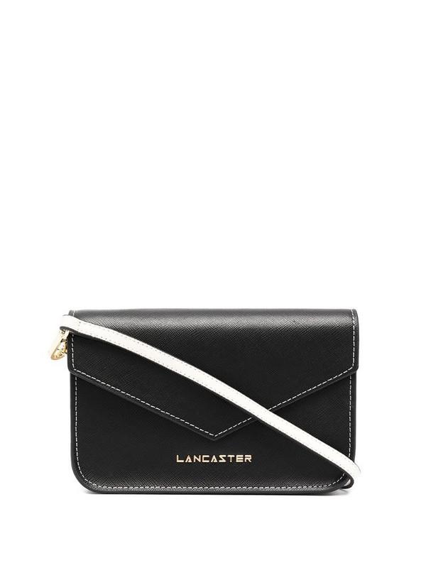 Lancaster logo-print crossbody bag in black