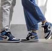 shoes,blue,nike,jordans