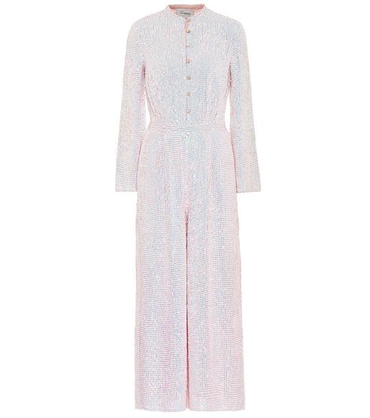 Temperley London Constellation sequined jumpsuit