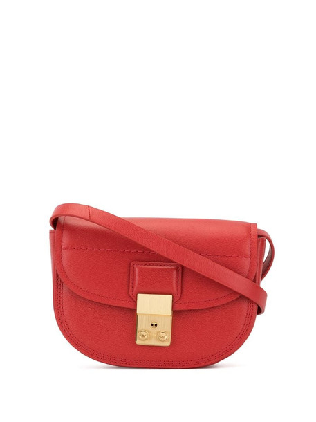 3.1 Phillip Lim Pashli Saddle mini belt bag in red