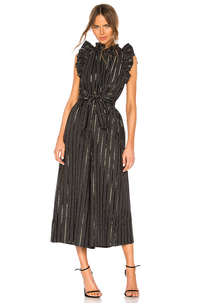 Ulla Johnson Simka Jumpsuit in black