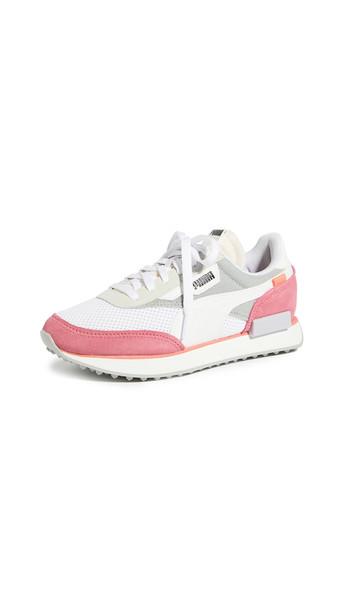 PUMA Future Rider Stream On Sneakers in white
