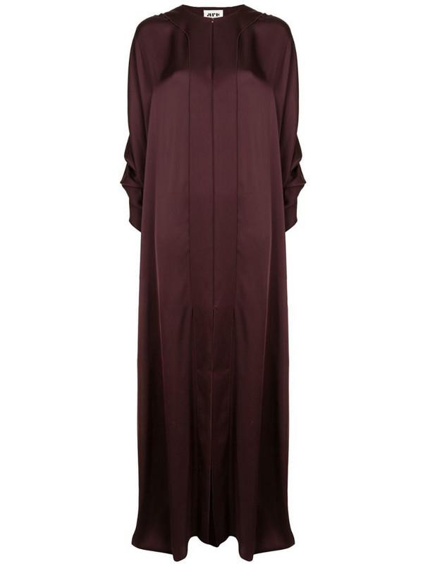 Maison Rabih Kayrouz flowing maxi dress in purple