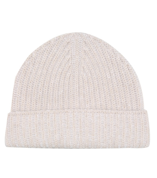 Joseph Ribbed-knit beanie in beige